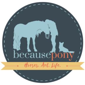 Because Pony seal logo