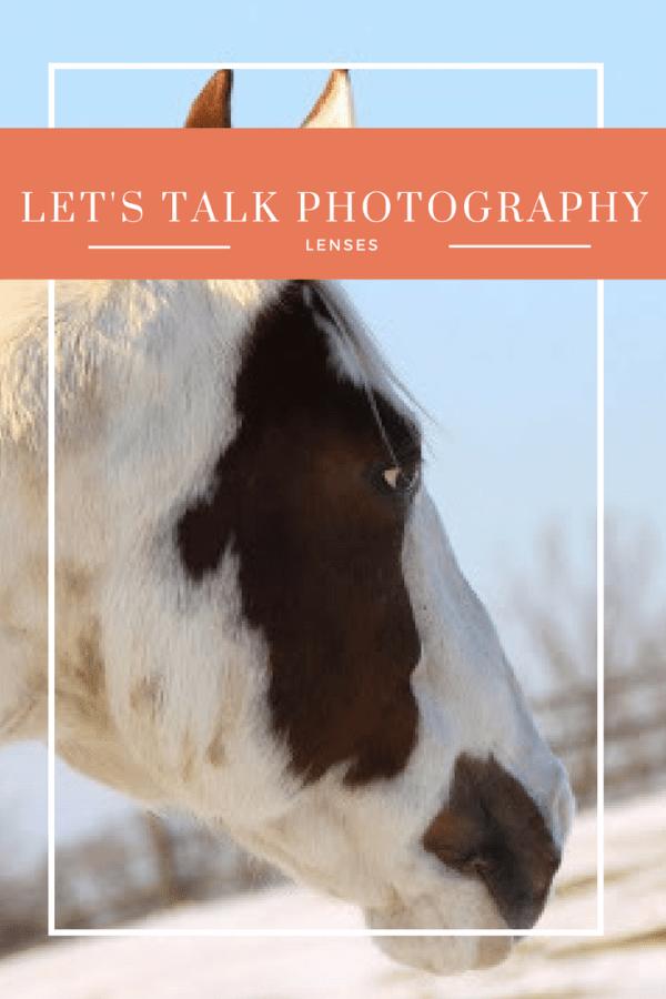 Let's Talk Photography, Part 6: Lenses
