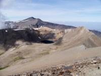 Veleta from Mulhacen, in the Sierra Nevada