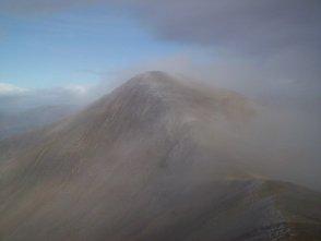 Mist on Stob a' Choire Mheadhoin