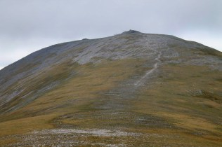 The final pull up Carn nan Gabhar