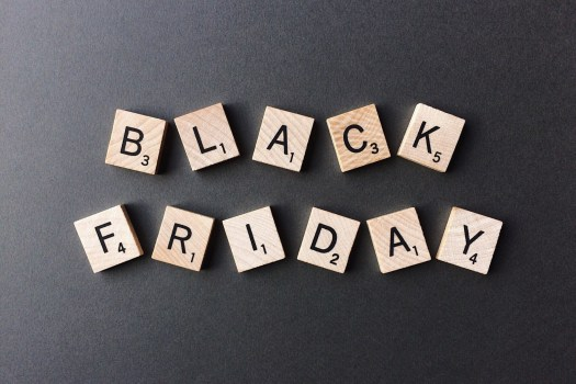 black friday scrabble letters, Photo by Wokandapix on Pixabay