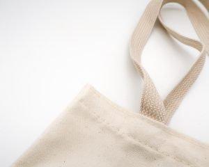 Canvas bag. Photo by Mel Poole on Unsplash.