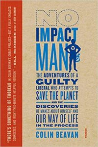 No Impact Man book cover