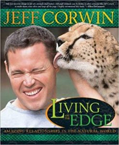 Cover of Living on the Edge by Jeff Corwin