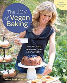 Cover of Joy of Vegan Baking cookbook