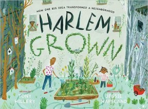 Cover of Harlem Grown book