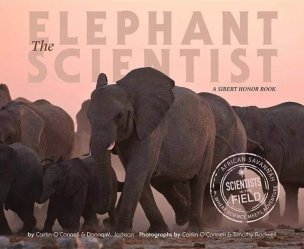 The Elephant Scientist book cover