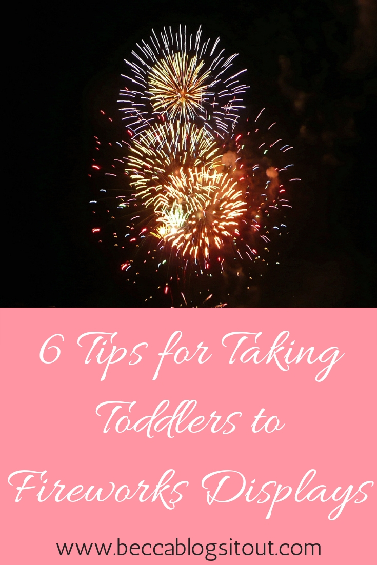 6 Tips for Taking Toddlers to Fireworks Displays