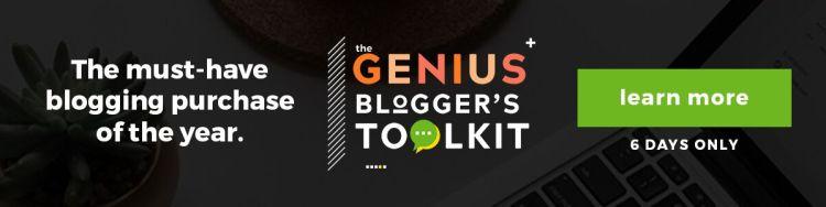 Genius Bloggers Toolkit 2018