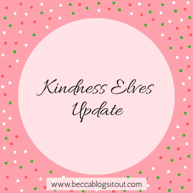 Kindness Elves Update