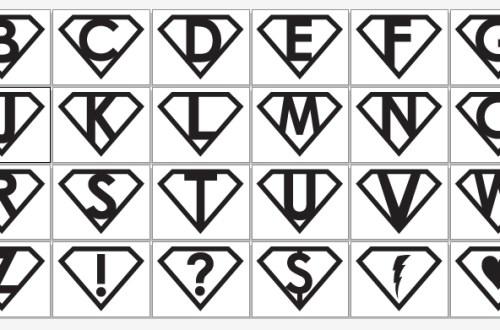 Printable Superhero Symbols | BeccaBug.com