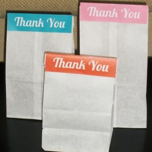 Thank You Bags | BeccaBug.com