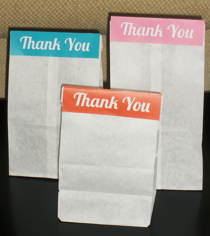 Thank You Bags | BeccaBug.com