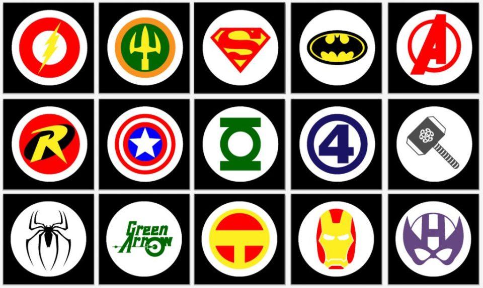 Super Hero Wall Posters – BeccaBug com