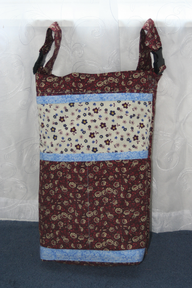Wheechair Bag - Brown with Cream Accents | BeccaBug.com