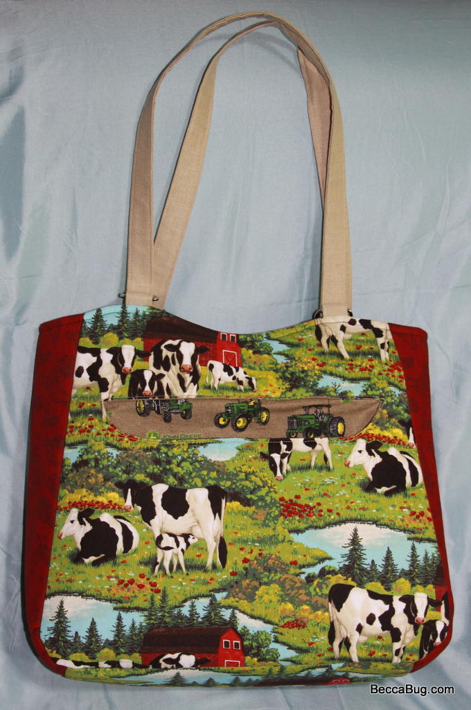 The Dairy Maid - Swoon Alice Tote Bag | Beccabug.com