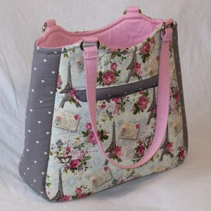 Floral Paris Tote Bag - Swoon Alice | Beccabug.com