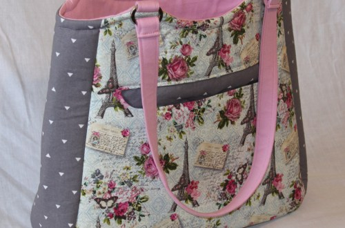 Floral Paris Tote Bag - Swoon Alice | Beccabug.com