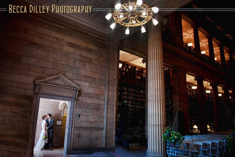 jj hill library wedding st paul