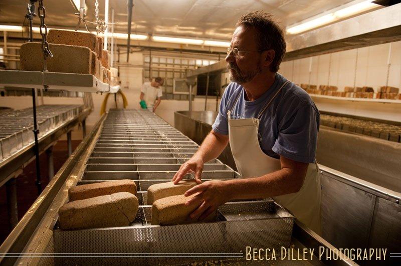 Joe Widmer Wisconsin artisan cheesemakers editorial portraits