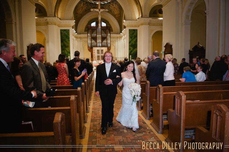 St Thomas church wedding st paul mn