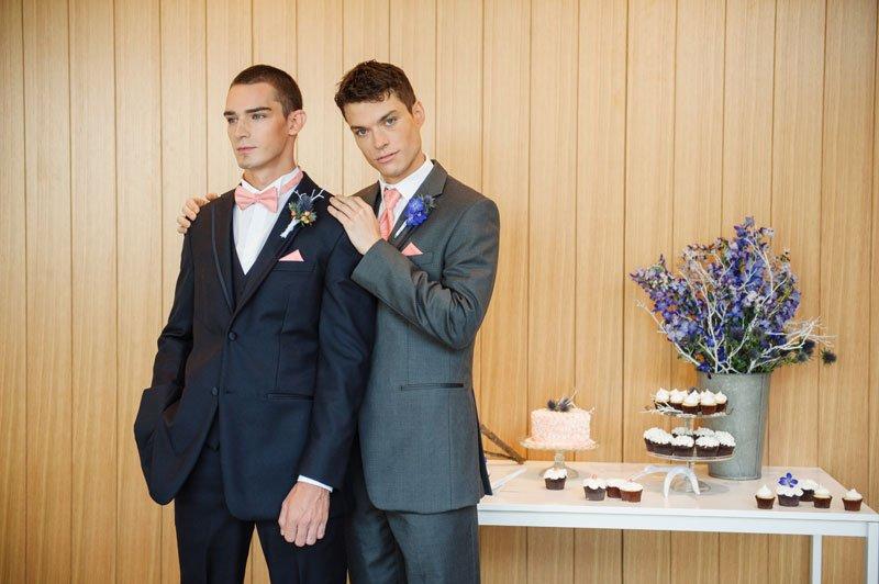 same sex wedding fashion