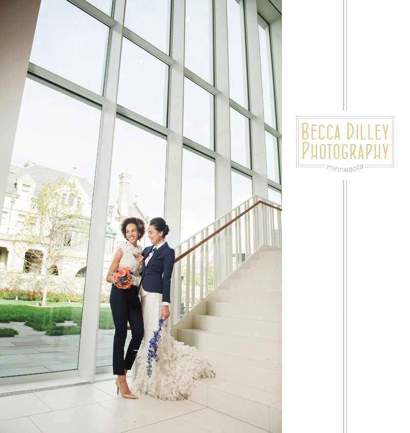 same sex editorial wedding fashion photography