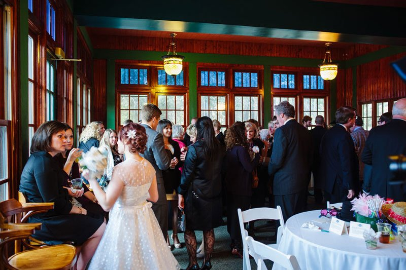 Park Wirth Theodore Chalet Wedding