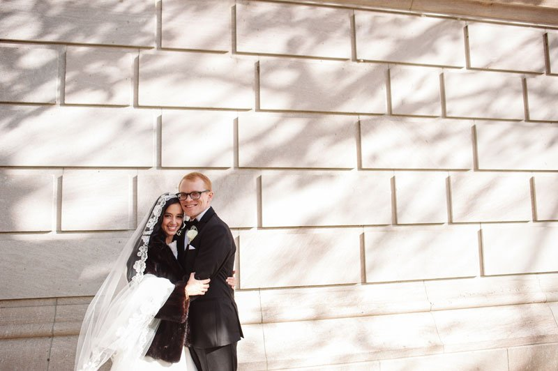 st paul mn wedding at jj hill library shadows and light
