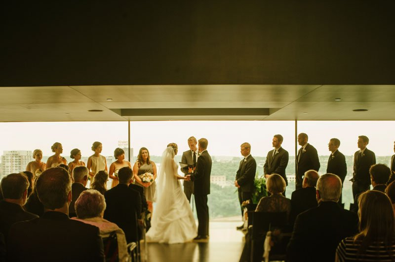 wedding ceremony Guthrie theater minneapolis mn