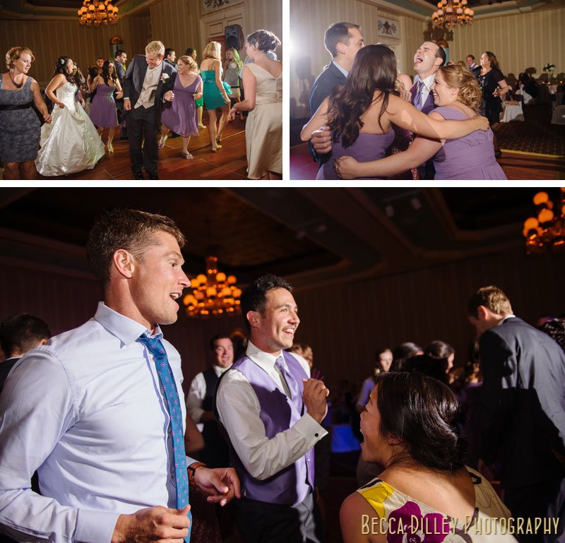 dancing at st paul hotel wedding reception mn