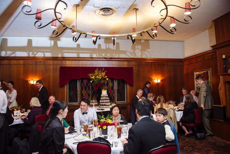 wedding reception at jax cafe