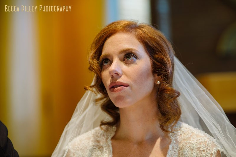 bride at Beth El Synagogue in St Louis Park MN