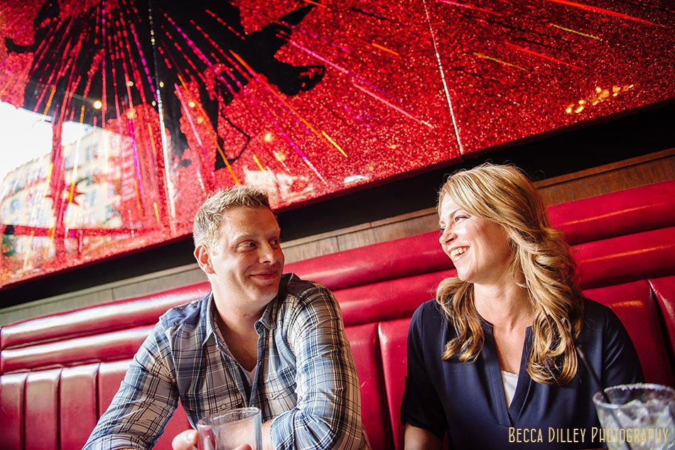 Lowertown St Paul engagement photos with Cassie + Ryan