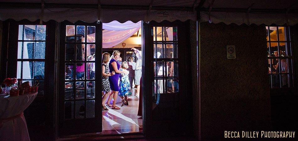 dancing reception at minnesota boat club on raspberry island st paul mn