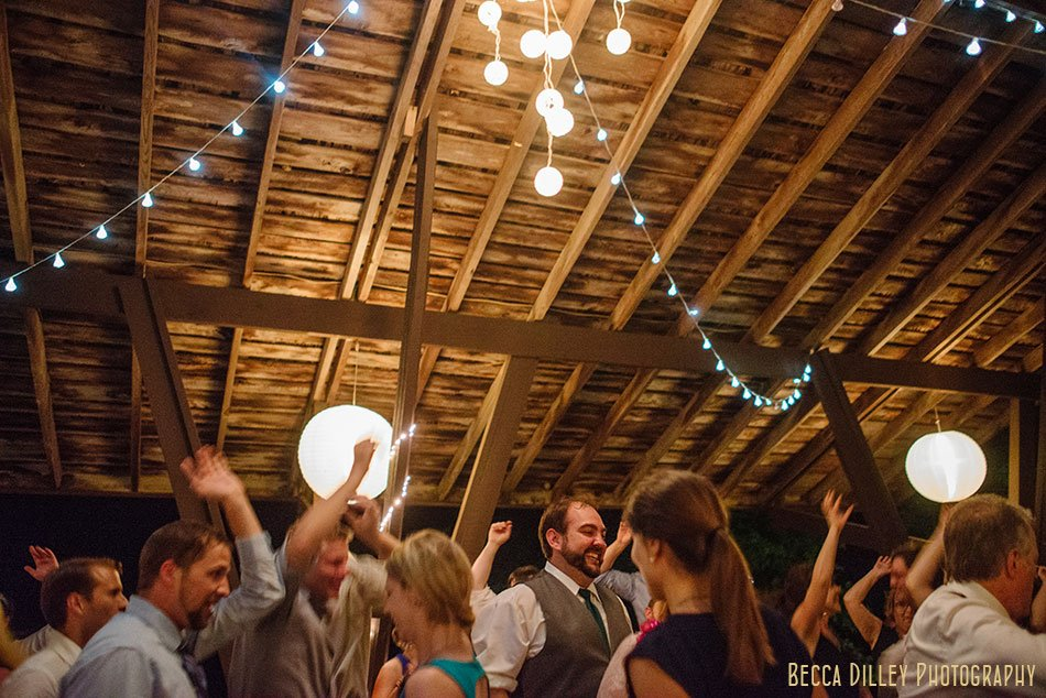 dancing in barn at hilltop in Spring Green WI