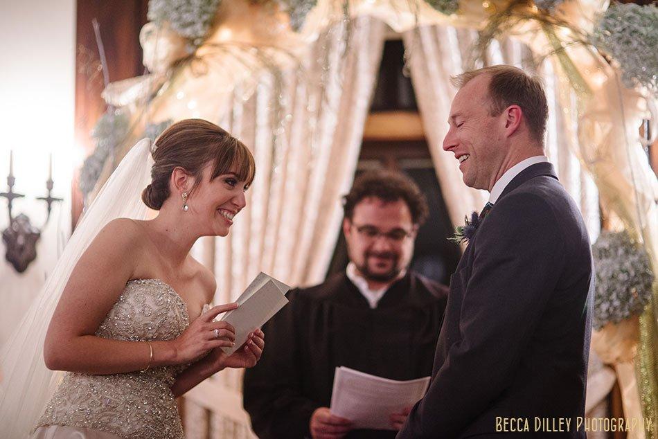 wedding ceremony minneapolis wedding at gale mansion