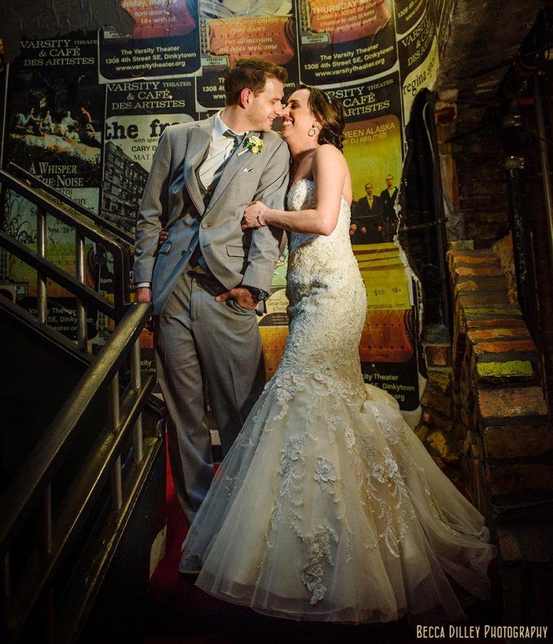 posters minneapolis wedding photographer varsity theater april mn
