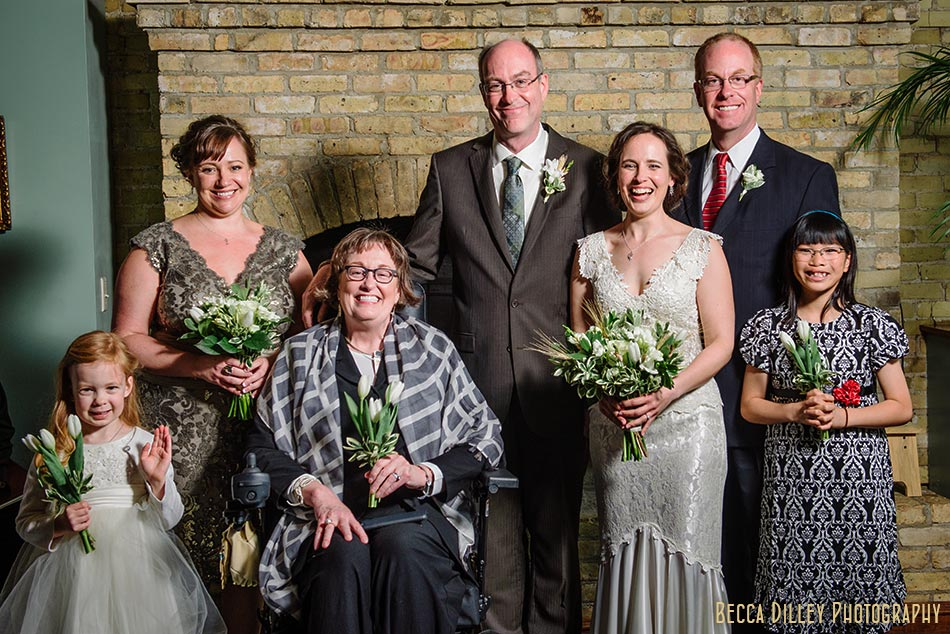 formal portrait in fireplace room wa frost wedding st paul mn photographer