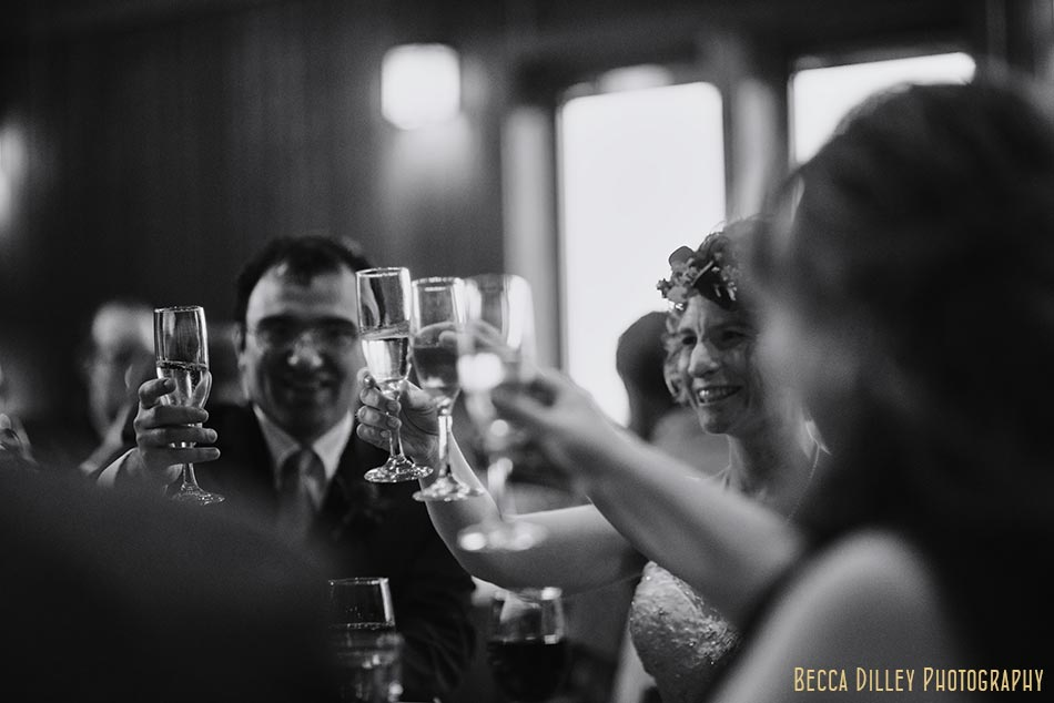 toasting prairie wedding madison wi
