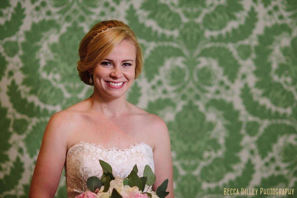 Minikahda Club wedding minneapolis with green floral