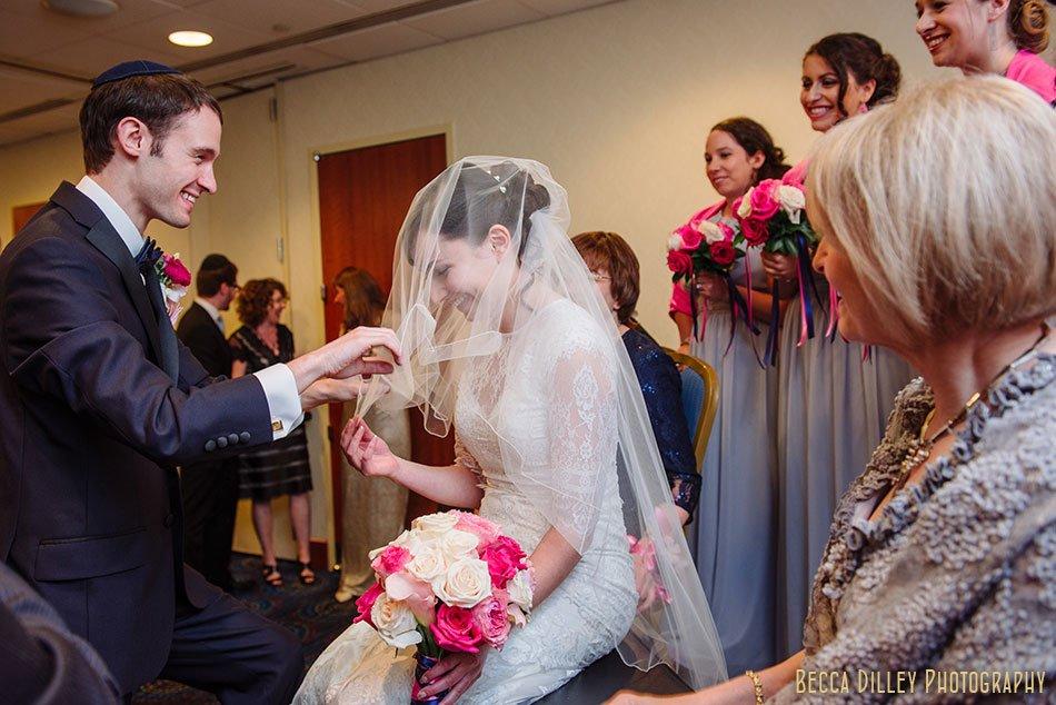 veiling minneapolis orthodox jewish wedding marriot city center