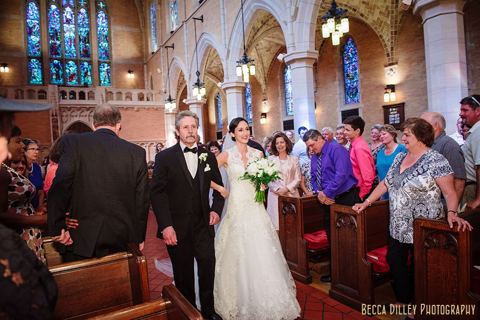 Saint Mark's Episcopal Cathedral wedding minneapolis