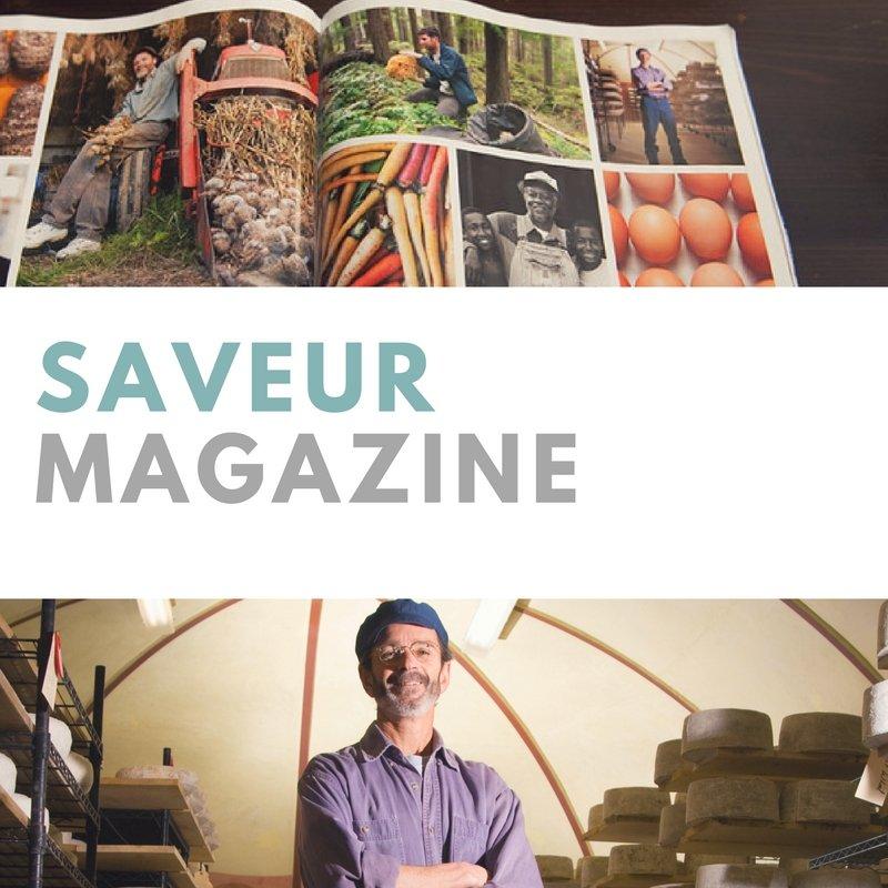 featured in Saveur Magazine