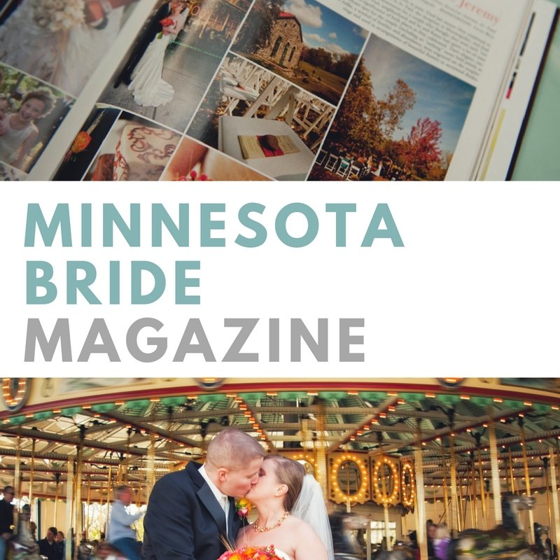 featured in Minnesota Bride Magazine