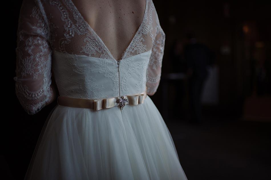 lace overlay dress Theodore Wirth Wedding Minneapolis