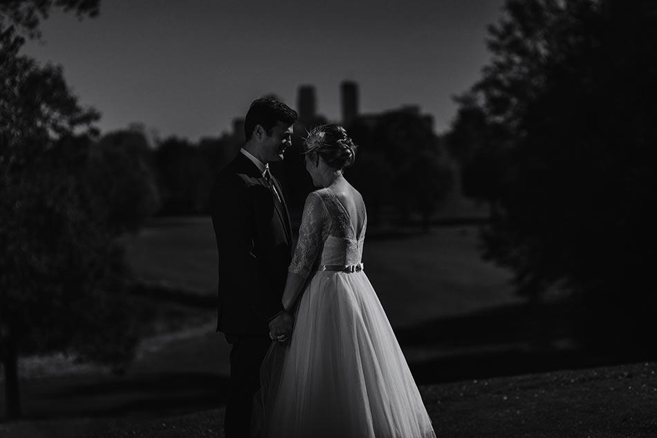 noir Theodore Wirth Wedding Minneapolis