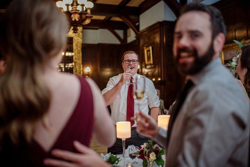 documentary Wedding at Minneapolis Club