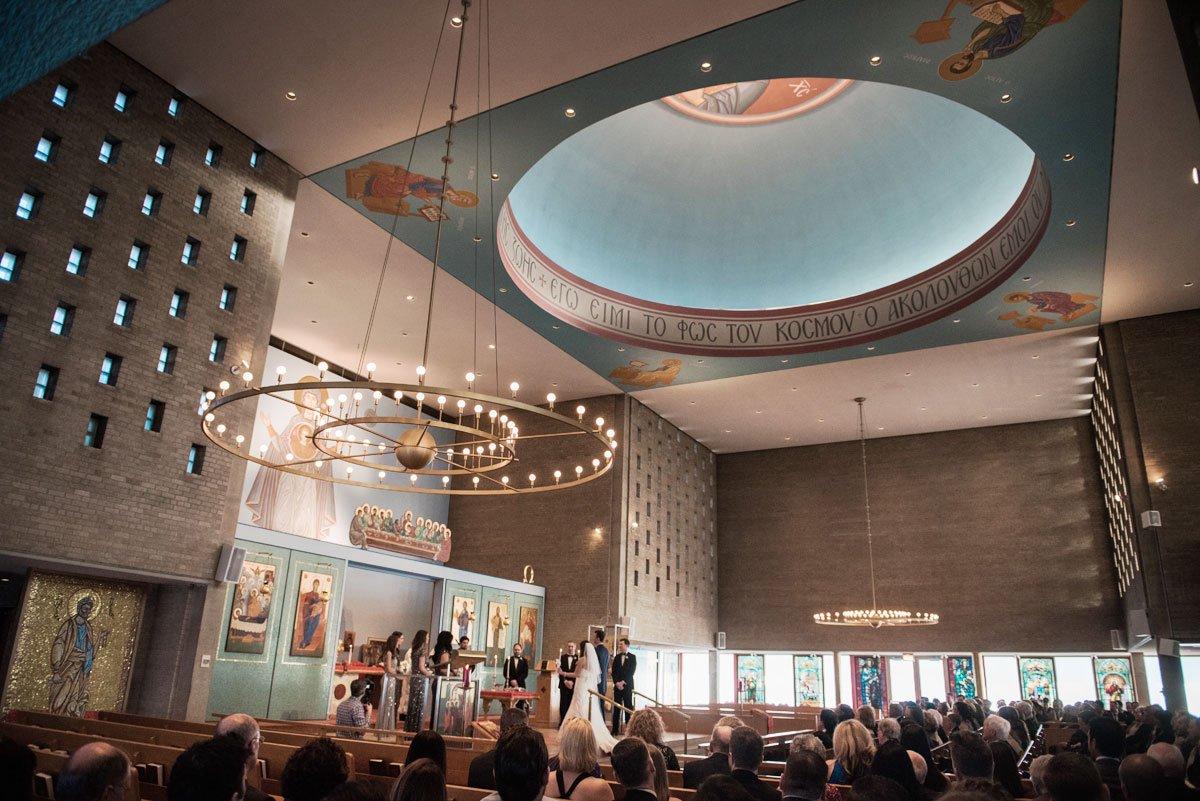 interior fun minneapolis wedding st marys greek orthodox church